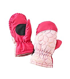 Miss Attitude Girls 2T-4T Quilted Mittens