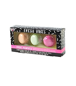 Fashion Angels Fresh Vibes Macaron Scented Bath Bomb Gift Set