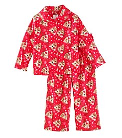 Disney Girls' 2T-4T 2 Piece Rudolph Pajamas