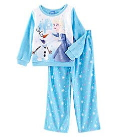 Disney Girls' 2T-4T 2 Piece Frozen Sweeten The Moment Pajamas