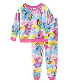 My Little Pony Girls' 2T-4T Pastel Pony Pajamas