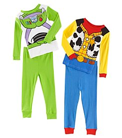 Disney Boys' 2T-4T Toy Story Space Rangers & Cowboys Pajamas