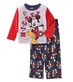 Mickey Mouse Boys' 2T-4T Varsity Mickey Pajamas