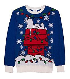 Jem Men's Snoopy Holiday Sweater