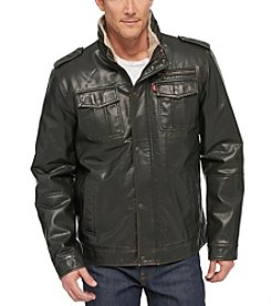 Levi's® Men's Big & Tall Miltary Trucker Jacket