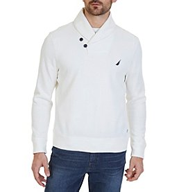 Nautica Men's Shawl Collar Sweater