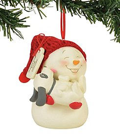 Department 56 Snowpinions Dog Owner Ornament