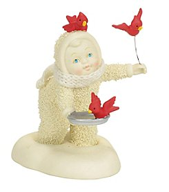 Department 56 Snowbabies Cardinal Figurine