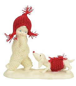 Department 56 Snowbabies Trailing Behind Figurine