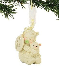 Department 56 Snowbabies First Christmas Ornament