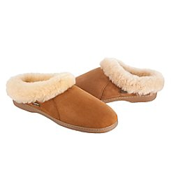 Isotoner Signature Ewe Collar Slip On Clog Slippers