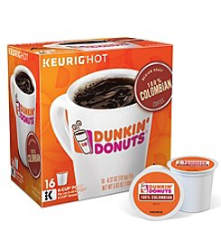 Keurig 16ct Dunkin' 100% Colombian K-Cups
