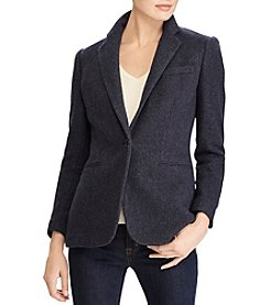 Lauren Ralph Lauren Angona Tweed Jacket
