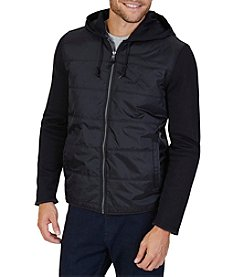 Nautica Men's Mixed Media Hoodie