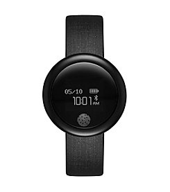 eMOTION Black Silicone Strap Smart Watch