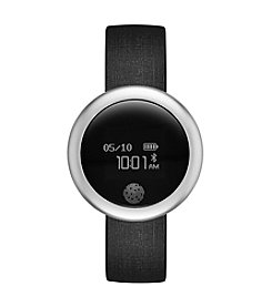 eMOTION Black Silicone Smartwatch