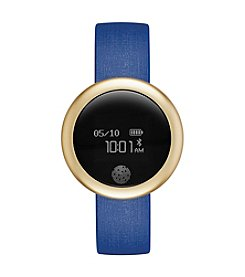 eMOTION Navy Silicone Smartwatch