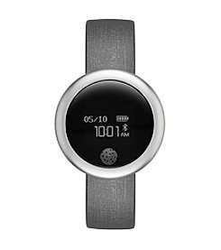eMOTION Gray Silicone Smartwatch