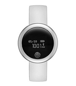 eMOTION White Silicone Smartwatch