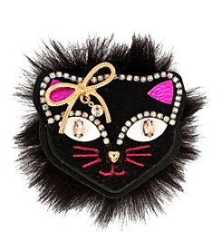 Betsey Johnson Cat Pin