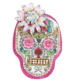 Betsey Johnson Multi Skull Pin