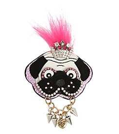 Betsey Johnson Dog Pin