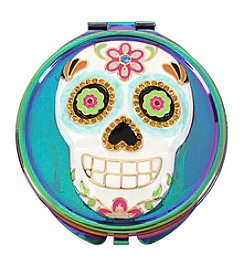 Betsey Johnson Multi Skull Compact Mirror