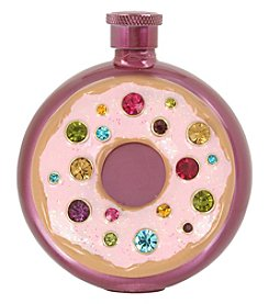 Betsey Johnson Sparkling Donut Flask