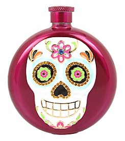 Betsey Johnson Sugar Skull Flask