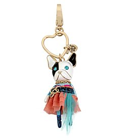 Betsey Johnson Dog Key Chain