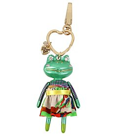 Betsey Johnson Frog Key Fob