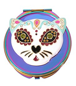 Betsey Johnson Cat Compact Mirror