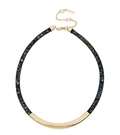 Kenneth Cole Goldtone Multi Tube Coil Necklace
