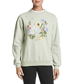 Morning Sun Floral Buzz Sweater