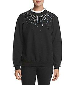 Morning Sun Sequin Burst Sweater