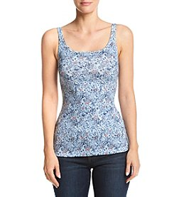 Ruff Hewn Floral Pattern Cami Top