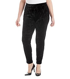 MICHAEL Michael Kors Plus Size Velvet Leggings