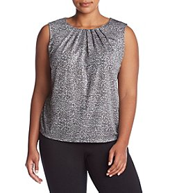 Calvin Klein Plus Size Animal Printed Cami