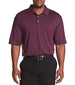 PGA TOUR Men's Big & Tall Short Sleeve Heather Polo