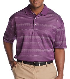 PGA TOUR Men's Big & Tall Space-Dye Polo