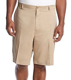 PGA TOUR Men's Big & Tall Flat Front Active Short