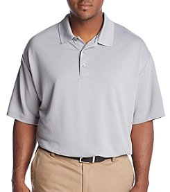 PGA TOUR Men's Big & Tall Airflux Solid Polo