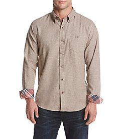 Weatherproof Vintage Men's Solid Flannel Shirt
