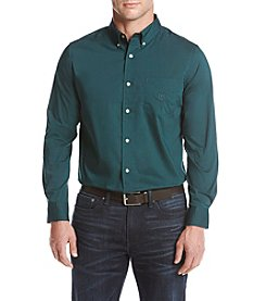 Chaps Men's Solid Poplin Stretch Shirt
