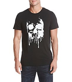 William Rast Men's Skull Print Graphic Tee