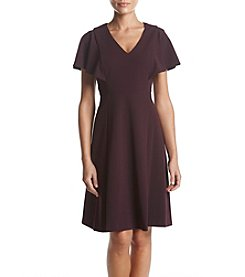 Calvin Klein Short Flutter Sleeve Dress