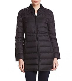 MICHAEL Michael Kors Quilted Baseball Collar Coat