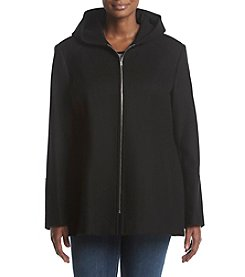 London Fog Zip Hooded Coat