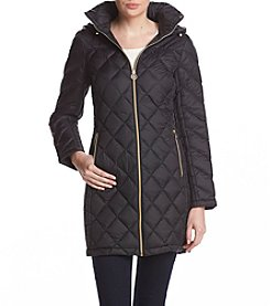 MICHAEL Michael Kors Diamond Quilted Coat