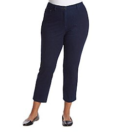 Alfred Dunner Plus Size Ankle Length Jeans